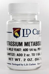 Potassium Metabisulfite 2 oz