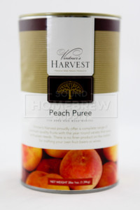 Puree - Peach 49 oz