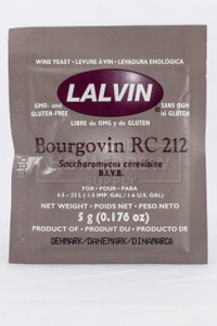 Lalvin RC-212 Wine Yeast
