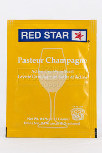 Red Star Pasteur Champagne Wine Yeast