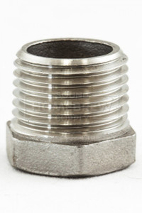 """Plug, Stainless 1/2"""" mpt"""