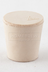 Rubber Stopper, Solid No. 3