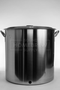 """Kettle w/ 7/8"""" Hole, Stainless 15 gal"""
