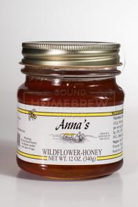 Honey, Wildflower 12 oz Jar