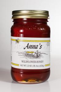 Honey, Wildflower 22 oz Jar