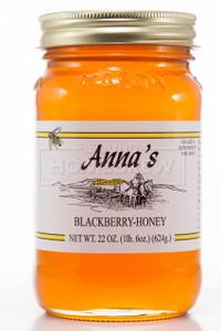 Honey, Blackberry 22 oz Jar