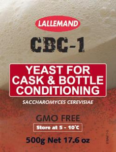 Lallemand CBC-1 Cask and Bottle Conditioned Beer Yeast
