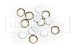 Bottle Caps, White (50 ct)