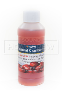 Cranberry Fruit Flavoring 4oz