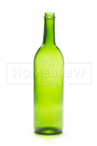 Bottle - Bordeaux Screw Top 750ml, Green (case of 12)