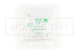 MiniJet Filter Pads, #3 Sterile