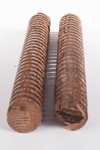 "Oak Spirals, American Heavy Toast 1"" x 8"" (2 pack)"