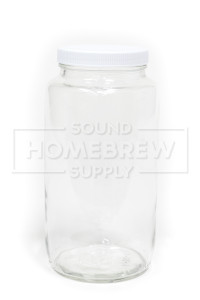 Jar, Wide Mouth w/ Lid 32 oz
