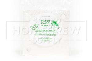 SuperJet Filter Pads, #3 Sterile