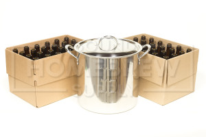 Brew Kettle & Bottles Kit
