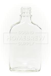 Flask, Glass Screw Top 6.75 oz