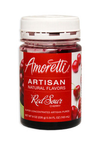 Red Sour Cherry, Amoretti Artisan Fruit Puree