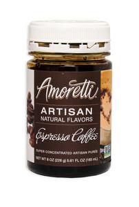 Espresso Coffee, Amoretti Artisan Puree