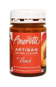 Peach, Amoretti Artisan Fruit Puree