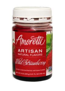 Wild Strawberry, Amoretti Artisan Fruit Puree