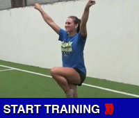 Cheerleading Liberty Drill