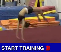 Train For A Better Back Handspring