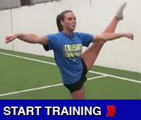 Toe Touch Drills For Cheerleading