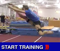 Hurdler Training