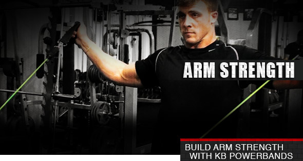 Build Arm Strength With KB PowerBands