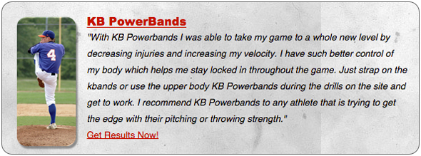 increase arm strength the KB Powerbadns