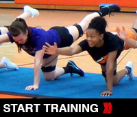 Cheer Core Pointer Drill