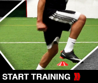 Soccer Lateral Touch Drill