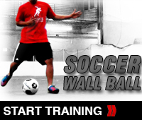 Soccer Wall Ball Drill