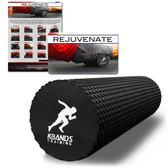 Kbands High Density Recovery Foam Roller (12 Inch Textured Foam Roller)