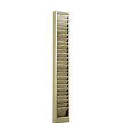Horizontal Badge Rack - 40 Capacity