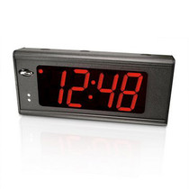 "Lathem 4"" Digital Display Clock - 110V"