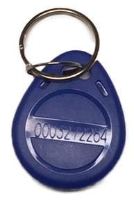 NETS 125 KHZ Key Fob (10 Pack) Compatible with Many Proximity Reader Time Clocks