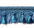 Jacquline 50mm Tassel Fringe, Colour Petrol