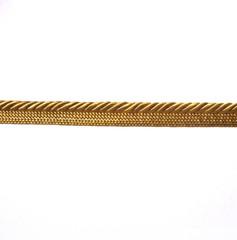 Madagascar 3mm Flange Cord, Colour 1 Old Gold