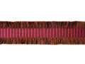 Chocolat 35mm Braid, Colour 1 Raspberry [ONLY 11 METRES LEFT]