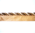 Durban 4mm Chenille Twist Flange Cord, Colour Coffee