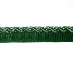 Kiev 8mm Flange Cord, Colour Kelly Green [ONLY 10 METRES LEFT]