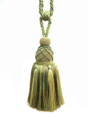 Bombay Large Tieback Tassel, Colour 1 Sage/ Green [SOLD OUT]