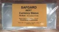 Safgard Currency Sleeves