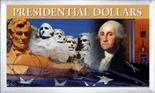 "Frosted 3"" x 5"" Case for  Presidential Dollars (4 Holes)"