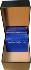 Proof Set Storage Box for US Proof Sets