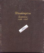Dansco Album #7140- Washington Quarters 1932-1998