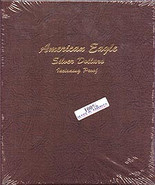 Dansco Album #8182- American Silver Eagles 2007-2010 with Proof Vol.2