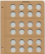 Dansco Album - Blank Page - Quarters
