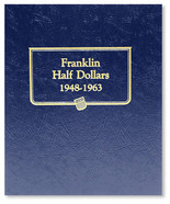 Whitman Album #9126 - Franklin Half Dollars 1948-1963